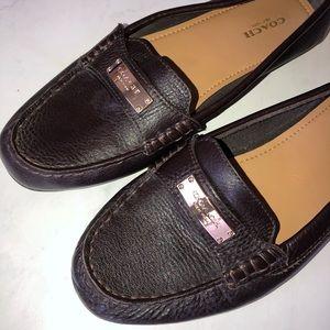 Coach | Fredrica Dark Brown Loafers